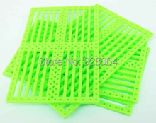 5pcs Function panel/DIY car shell plate/perforated plastic film/plastic plate/science experiments materials/toy accessories