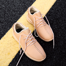 MWSC 2018 New Arrival Male Casual Shoes Microfiber Leather Men Breathable Fashion Light Sole Brand Shoes(China)