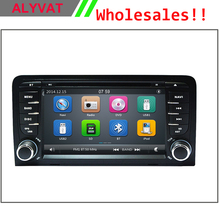 2 Din Car DVD Player for Audi A3 S3 2003 2004 2005-2011 Stereo Headunit with Built-in GPS Sat Navi Free Map+SD Card USB Can Bus