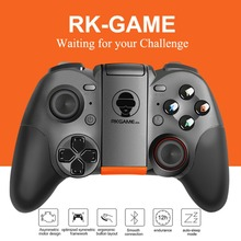 RK Game 4th Bluetooth Gamepad Wireless 4.0 Joystick Dual Mode Support For IOS For Android Game Controller Joypad