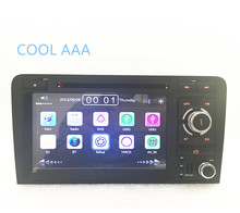car radio gps 2din  navigation for A udi A3  S3 2004-2008 Car radio Stereo With BT Ipod Steering wheel