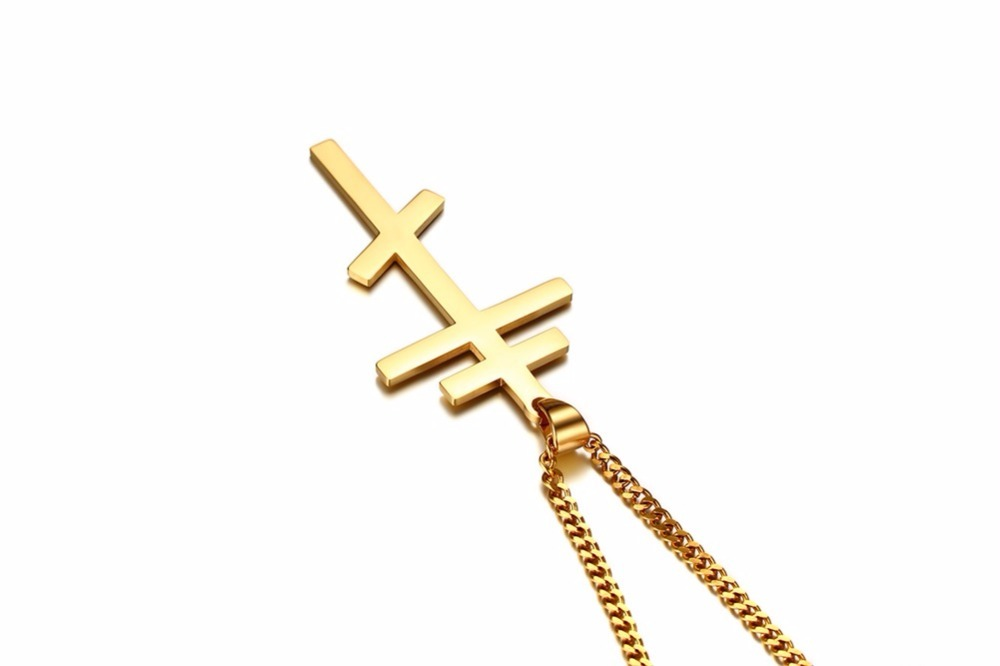 Authentic Russian Orthodox Cross Pendant Necklace for Men 16