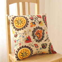 Bohemia bed sofa cushion back office car Pillowcase covers throw pillow cover(China)