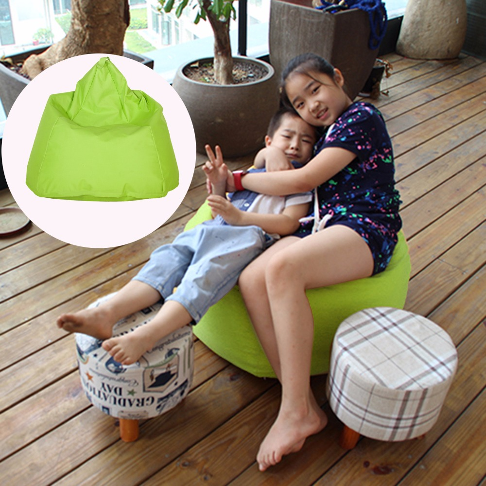Homdox Portable 470L Beanbag Sofa Chair Lounge Solid Water Drop Shape Cushion Outdoor Self Inflated Beanbag Furniture #20-25<br>