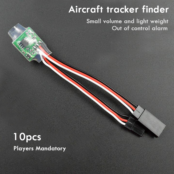 10pcs Hot Lost Alarm Finder Tracker drone Aircraft tracker finder for Aircraft RC Model Air Plane Helicopter Multicopter 6IRP<br><br>Aliexpress