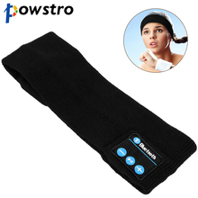 Protable Wireless Bluetooth Headband Headset Stereo Rechargeable enjoy Music Hand-free call for Sport Running Yoga(China)