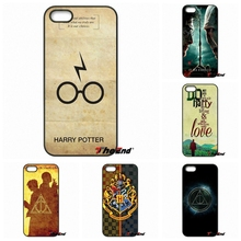 Harry Potter Movie Poster Deathly Hallows Hard Case For Moto E E2 E3 G G2 G3 G4 G5 PLUS X2 Play Nokia 550 630 640 650 830 950