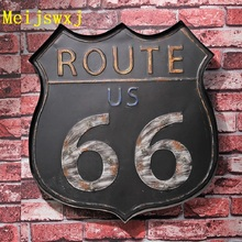 Meijswxj Vintage Home Decor LED Neon Sign Highway 66 Wall Hanging habby chic Brass knuckles weapon Bar Cafe Restaurant  Signage