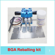 XBOX 360 XBOX stencils New 90mm Reballing rework Station Solder balls Kits Tape Kingbo 218 100g Flux(China)