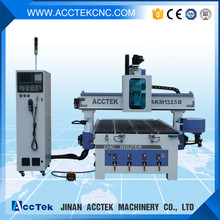 1325 good quality cnc router furniture equipments , 8pc tools atc wood working cnc machines