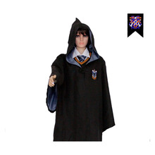 Cosplay Harri potter Uniform Magic Gown Robes Cloak Clothing School Cosplay Costumes Cloak Children and Adult(China)
