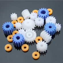 Plastic Bearing Gear Set DIY Worm Gear Axle Gear Pack Spindle gear bag boutique 2MM 2.3MM 3MM 3.17MM 4MM D worm with bushings