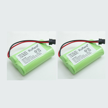 2pcs Ni-MH 1400mAh 2.4V Rechargeable BT-1007 BT-1015 Cordless Phone Battery For Uniden BT904, BP904, BT1007, BT1015, BBTY0460001