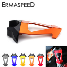 Buy CNC Aluminum Motorcycle Front Rear Shock Absorber Damping Cover Universal Honda MSX125 Yamaha Ducati Street Bike Scooter KTM for $18.99 in AliExpress store