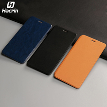hacrin For Jiayu S3 Flip Leather Case High Quality Flip Leather Cover With Hall Function For Jiayu S3 and Jiayu S3+ Cell phone(China)