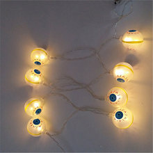 2m 20led ghost eyes string lights for halloween party decor halloween string light