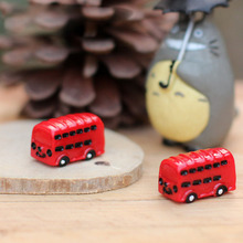 Totoro Car Bus Miniature Fairy Garden Home Houses Decoration Mini Craft Micro Landscaping Decor DIY Accessories