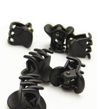 12pcs/Bag Black Hair Clips Clipper Clamp For Women Ladies Plastic 6 Claws Hairpin Hair Styling Tools(China)