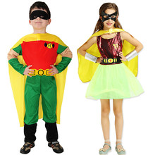 Halloween Costumes Costumes People Show Costumes Children Robin Superman Suit