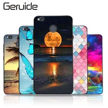 Geruide Xiaomi Redmi 4X Case Cover, Fashionable Soft TPU Silicone Back Cover Cases For Redmi 4X 5.0inch Cell Phone Cases