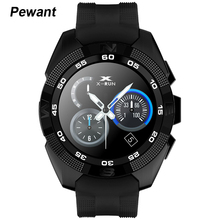 NEW Pewant X4 Smart Phone Watch Heart Rate Step Counter Stopwatch Ultra Thin Bluetooth Wearable Devices Sport For IOS Android