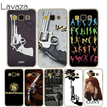 Lavaza Smith and Wesson 44 Magnum guns Cover Case for Samsung Galaxy A3 A5 J5 2015/2016/2017 Cases for J3 J5 Grand Prime J7(China)