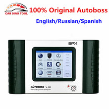 Original SPX AUTOBOSS V30 Auto Scanner Online Update Global Version Car Diagnostic Tool English/Russian/Spanish Multi-Languages