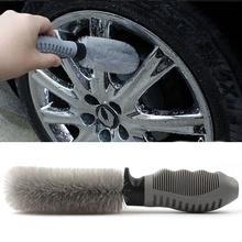 1 pcs High quality Auto Wheel Tire Rim Brush Wash Cleaner Tyre Brushes for Car Hot sale