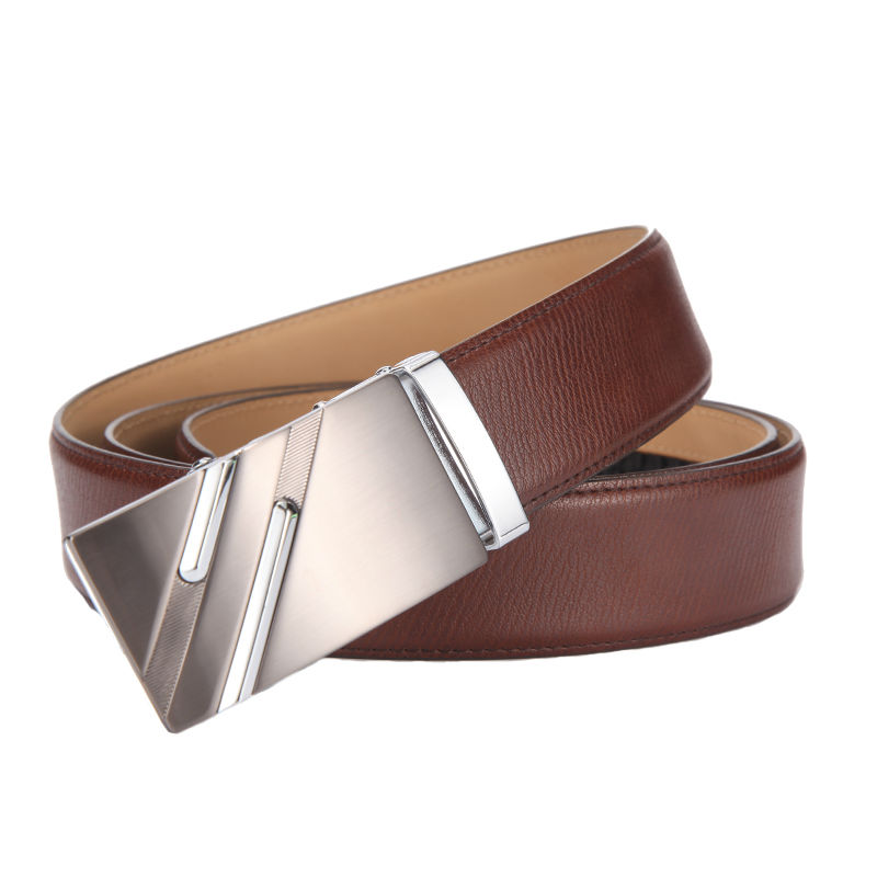 HTB1P8FYRVXXXXXRaXXXq6xXFXXX9 - [CNYANGCHENG]Mens Designer Belts High Quality Genuine Leather Automatic Buckle Male Waistbands Luxury Cummerbunds Belts For Men