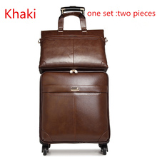 "18""20""22""24""  rolling luggage sets suitcas Male and woman commercial trolley luggage   soft  luggage"