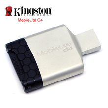 Kingston Card Reader USB 3.0 Multi-function Mobile usb Metal Mini SD microSDHC/SDXC UHS-I Memory Card for Computer USB Adapter(China)