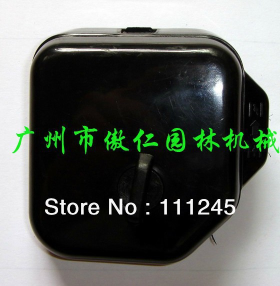 MUFFLER ASSEMBLY FOR MITSUBISHI TB26 ENGINE / MOTOR FREE SHIPPING CHEAP EXHAUST AIR SILENCER MUFFER REPLACEMENT PARTS<br>