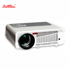 2017 Newest Full HD Projector 5500 lumens LED Android4.4 Wifi Smart Multimedia video 3D Proyector Full hd for home theater(China)
