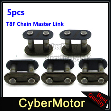 5x T8F Chain Spare Master Link For 2 Stroke 43cc 47cc 49cc Dirt Super Pocket Bike Motorcycle Mini ATV Quad 4 Wheeler