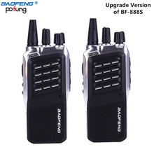 2Pcs Baofeng BF-888S(II) Dual Band Two Way Walkie Talkie 5W Handheld Two Way Radio 400-470MHz UHF Radio Scanner Upgrade BF-888S