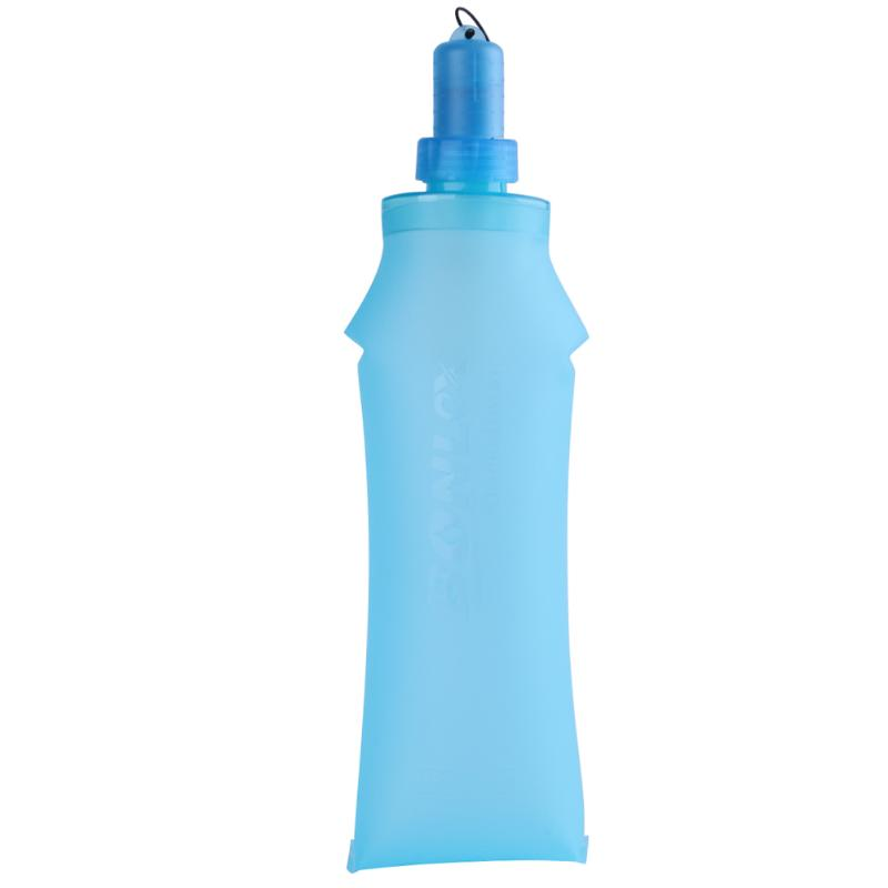 500ML BPA Free TPU Folding Water Bag MTB Road Bike Cycling Soft Drink Bottle Flask Outdoor Cyling Hiking Running