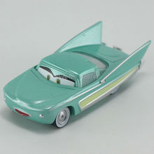 Pixar Cars Flo Diecast Metal Toy Car For Children Gift 1:55 Loose New In Stock
