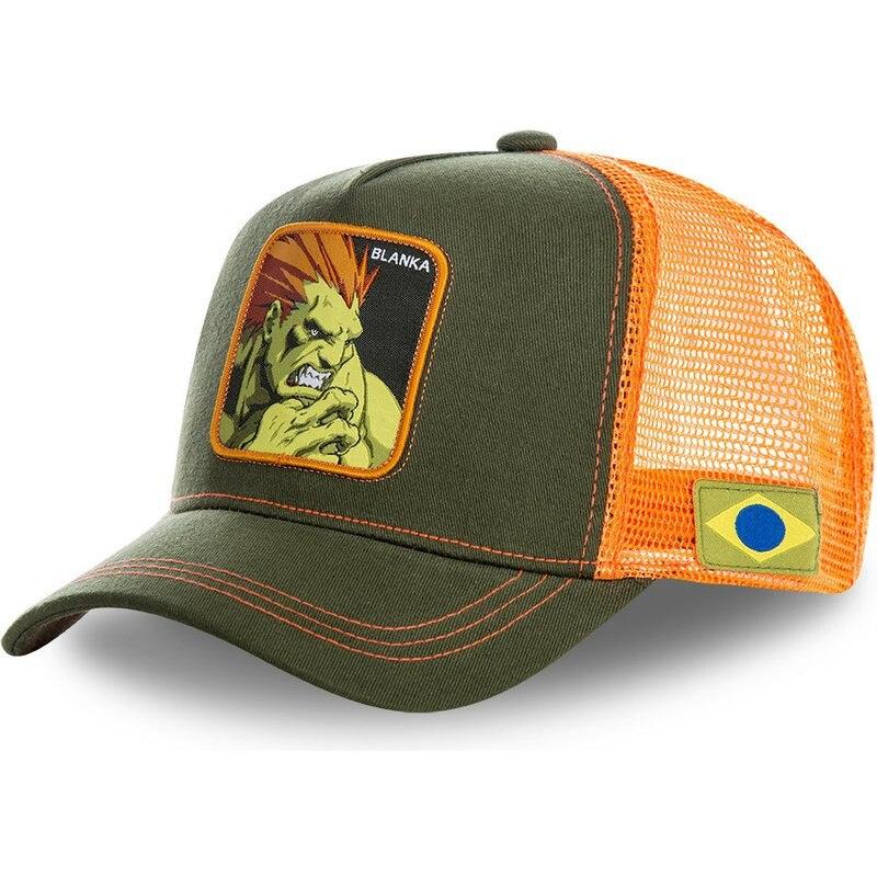 capslab-blanka-bla-street-fighter-green-and-orange-trucker-hat (1)_副本