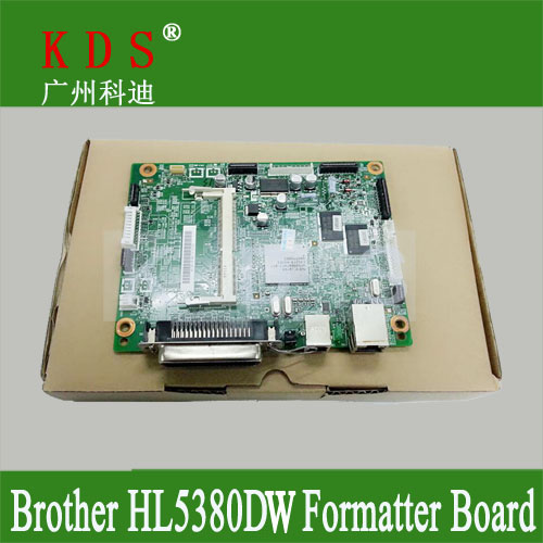 Original Formatter board for Brother HL-5380DW main board logic board PBA-MAIN for LV0314001 remove from new machine<br><br>Aliexpress