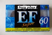 EF60 60 Minutes Authentic Normal Position Type 1 Recording Blank Cassette Tapes.(China)