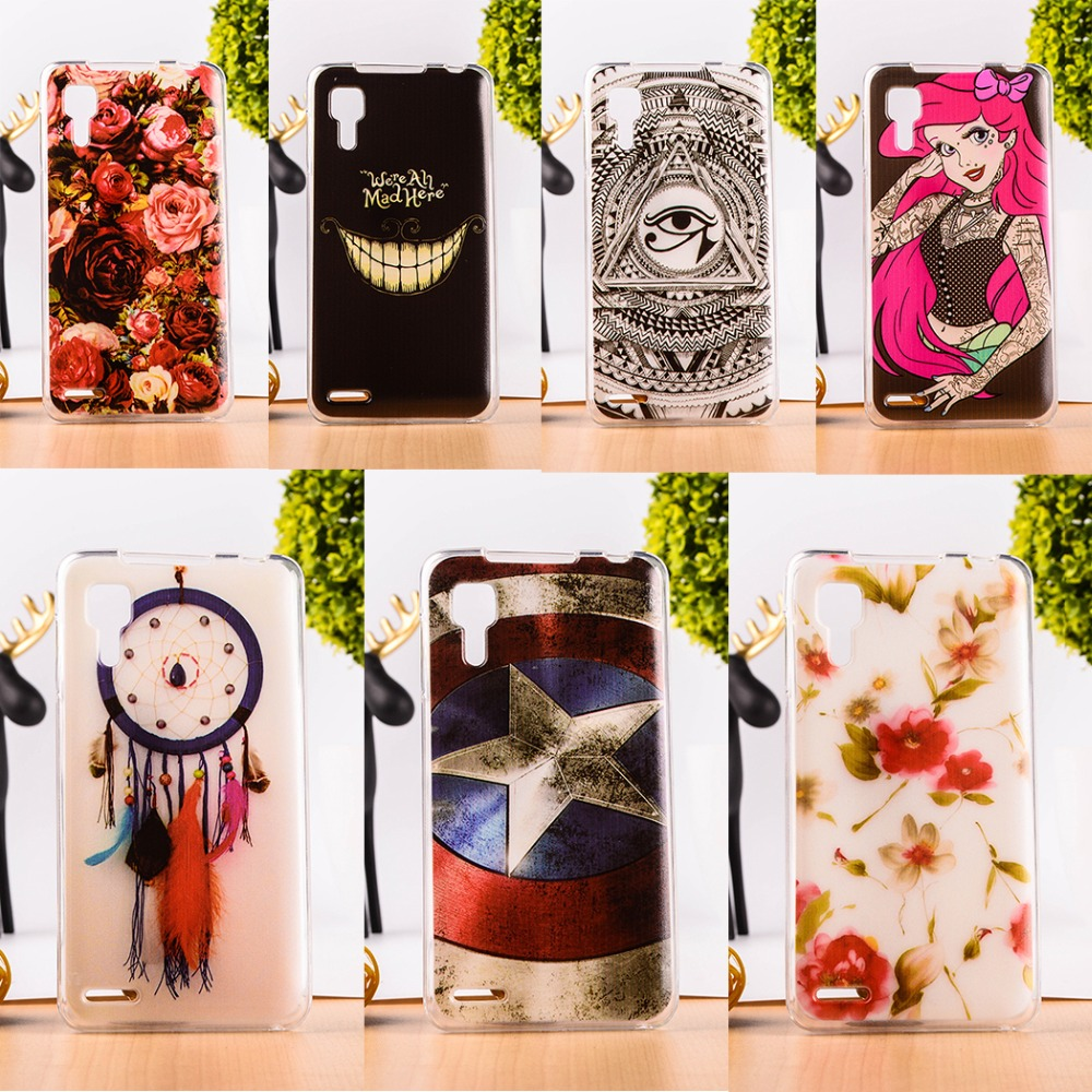 TAOYUNXI Protective Cute Soft TPU Cases Lenovo P780 P 780 5inch Silicon Back Cover Shell Skin Shield Mobile Phone