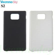 Vecmnoday Replacement Housing Door Battery Back Cover For Samsung Galaxy S2 II Back Battery Cover case For Samsung i9100 cover(China)