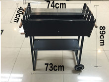 Charcoal BBQ grill,multifunction BBQ grill,outdoor charcoal BBQ grill