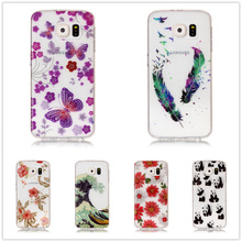 Buy Soft TPU Cover Coque Samsung Galaxy S6 Case IMD Bling Flower Powder Puppy Transparent Fundas Case Samsung Galaxy S6 for $1.39 in AliExpress store