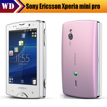 Xperia mini pro Original Sony  XPERIA X10 mini pro2 SK17i SK17 Android GPS WIFI 5MP Unlocked Mobile Phone Free Shipping