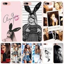 Ag Ariana Grande Cat cell phone Cover case for iphone 6 5 5s SE 4 4s 5c 6s 7 plus case for iphone 7
