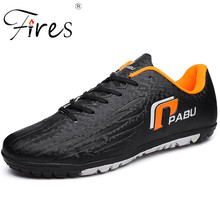 Fires Men Soccer Shoes Cleats Outdoor Professional Turf Football Shoes Big Size Sneakers Comfortable Sport Sapatos de futebol