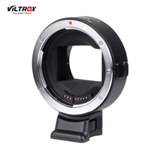 Viltrox EF-NEX IV Lens Mount Adapter Ring AF Auto Focus CDAF PDAF USB Upgrade for Canon EF/EF-S Lens for Sony E-mount A9 A7 A7R(China)