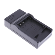 Camera Battery Charger Portable Travel Intelligent Camera Battery Power Charger with LED Indicator for Olympus LI-50B