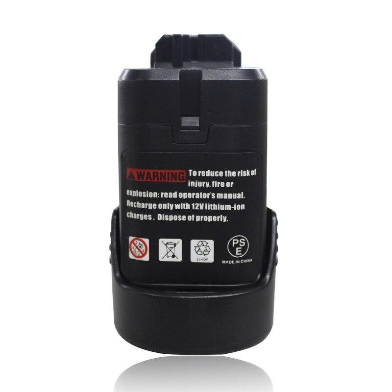 BAT411 Electric Drill Battery 10.8V 2000mAh Li-ion For Bosch BAT411 BAT412 2 607 336 996 TSR1080 GSR10.8-2 GSA10.8V GWI10.8V<br><br>Aliexpress